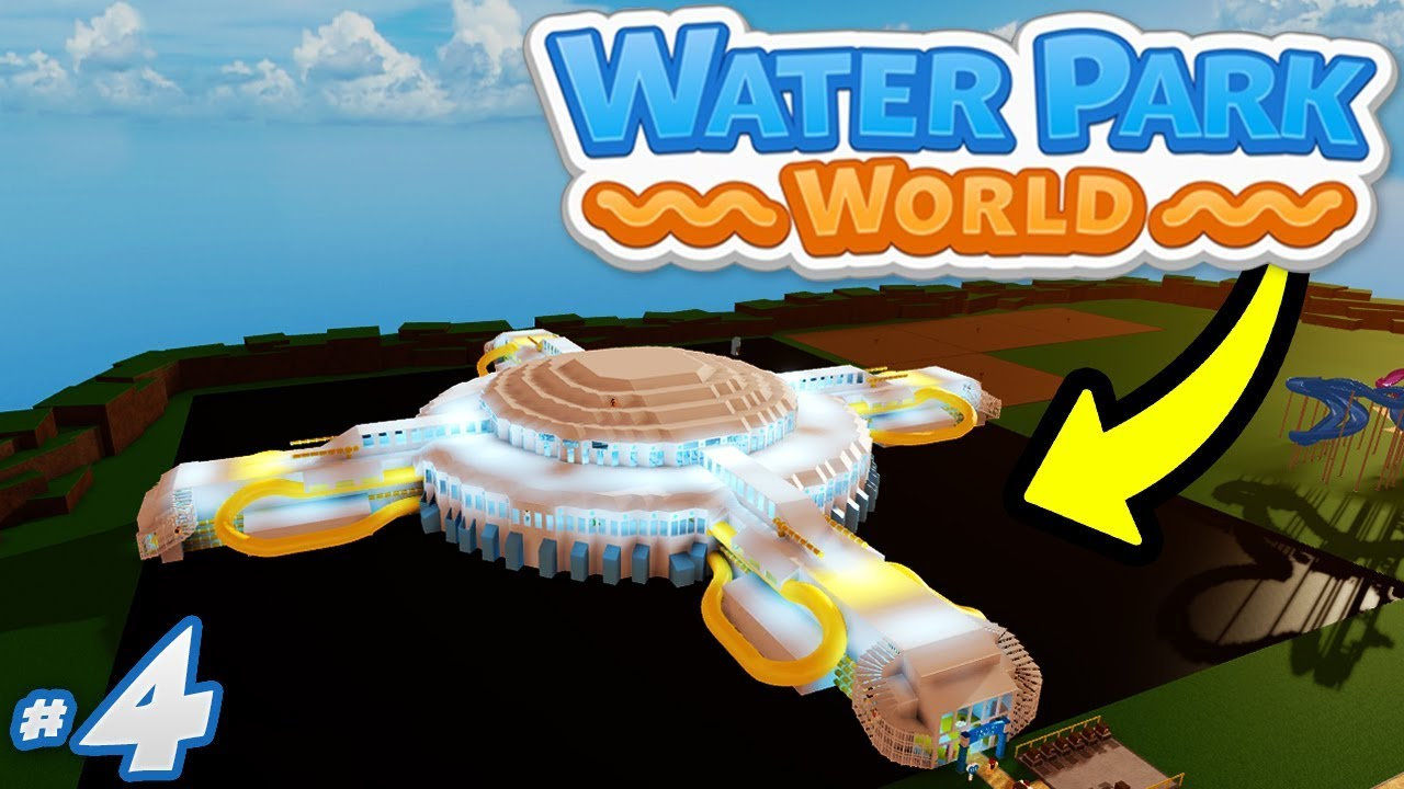Playing Robloxian Waterpark Youtube Water Park World 4 Best Waterpark Build Yet Roblox Water Park World Youtube