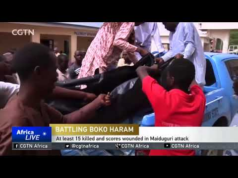 At least 15 killed and scores wounded in Maiduguri attack