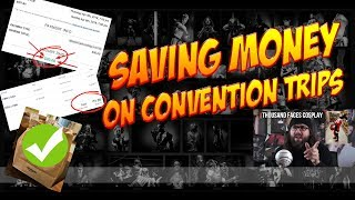 Three MONEY SAVING Travel Tips for Conventions