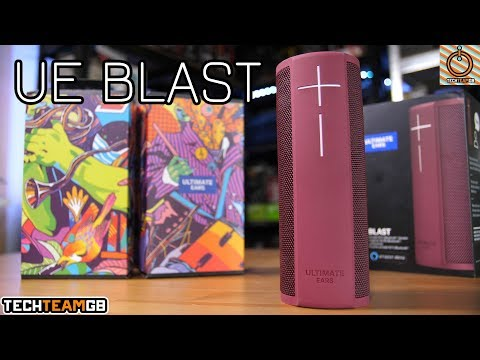 Ultimate Ears Blast Review - Alexa in a speaker?!?
