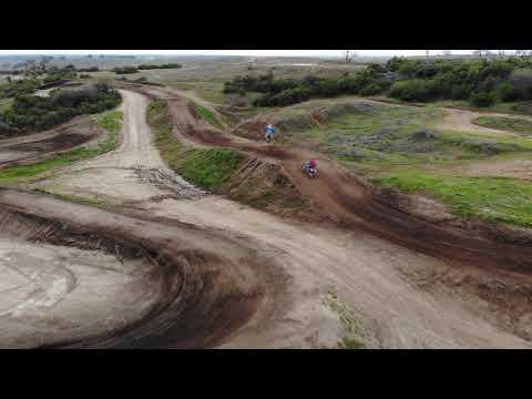 Husqvarna fe, Dji Mavic air, couple laps on the track