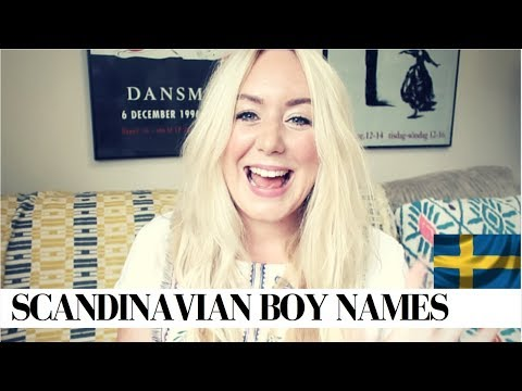 STRONG MASCULINE SCANDINAVIAN BOY NAMES & MEANINGS | SJ STRUM | BABY NAMES