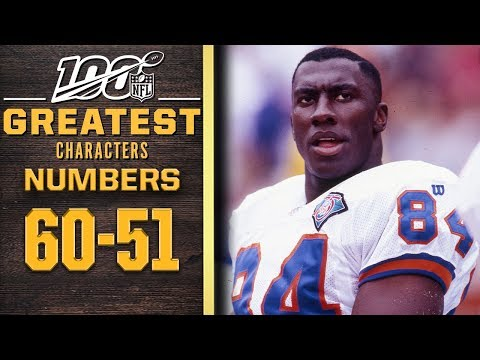 100 Greatest Characters: Numbers 60-51 | NFL 100
