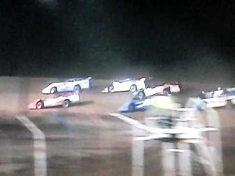 Dog Hollow Speedway 9-4-16 SLM Heat 3*****