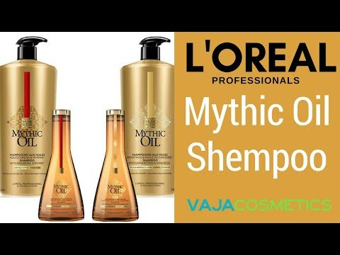 L'Oreal Professional Mythic Oil Shempoo Review   Unboxing