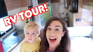 TOUR OF OUR RV!