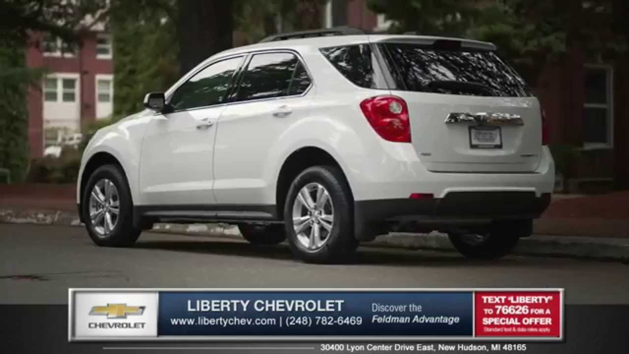 2015 Chevrolet Equinox Is Better Than The Ford Escape In New Hudson,  Michigan