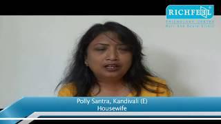 Ms. Polly Santra - Hair fall