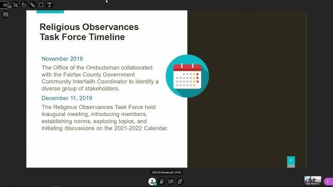 Fairfax County Public Schools Calendar 2022.Fcps School Board Work Session 3 2 2021 Sy21 22 Calendar Part 1 Youtube