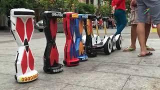 Dạo chơi bằng xe điện tự cân bằng 2 bánh ở phố đi bộ Nguyễn Huệ - Tp Hồ Chí Minh