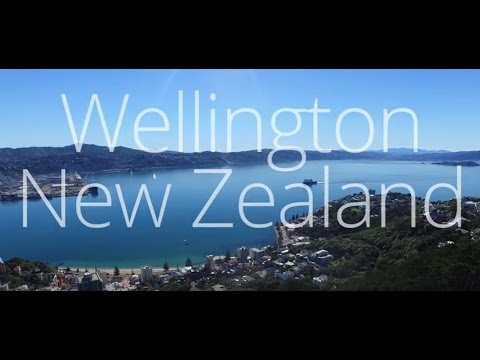 Wellington New Zealand - Aerial View