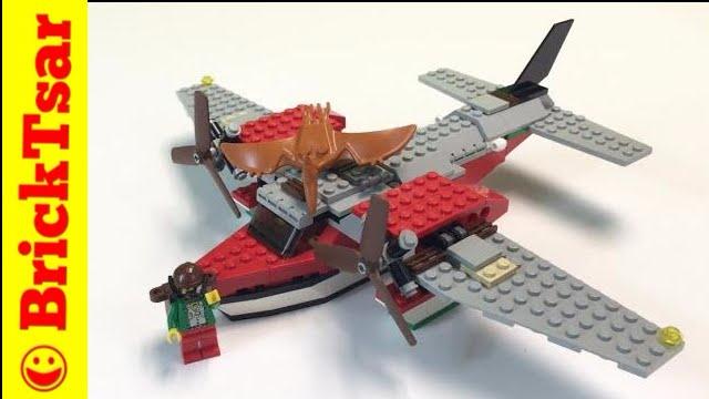 LEGO Adventurers Dino Island 5935 Island Hopper - Review