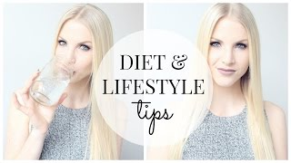 Watch in hd! these are my quick and easy healthy diet lifestyle tips! i talk about everyday fitness tricks that help me maintain a we...