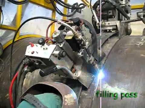 Pipeline Automatic Welding Passo E Tsa Youtube