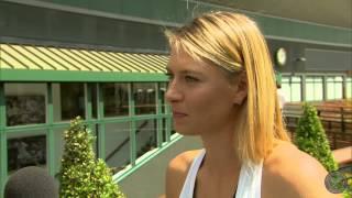 Maria Sharapova takes the Wimbledon fan quiz