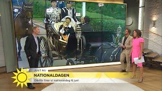 Därför firar vi nationaldag 6 juni - Nyhetsmorgon (TV4)