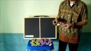 Alat Peraga Matematika SMP materi  Persamaan Linier Satu Variabel ( PAPAN PLSV )