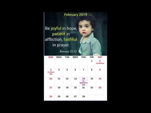 Christian Calendar 2019 - Free Android App