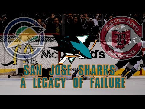 The San Jose Sharks: A Legacy of Failure
