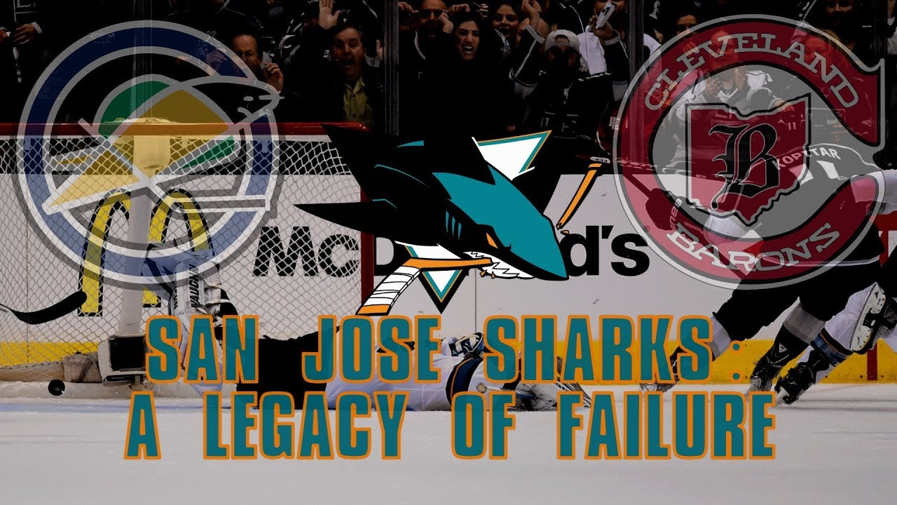 the-san-jose-sharks-a-legacy-of-failure