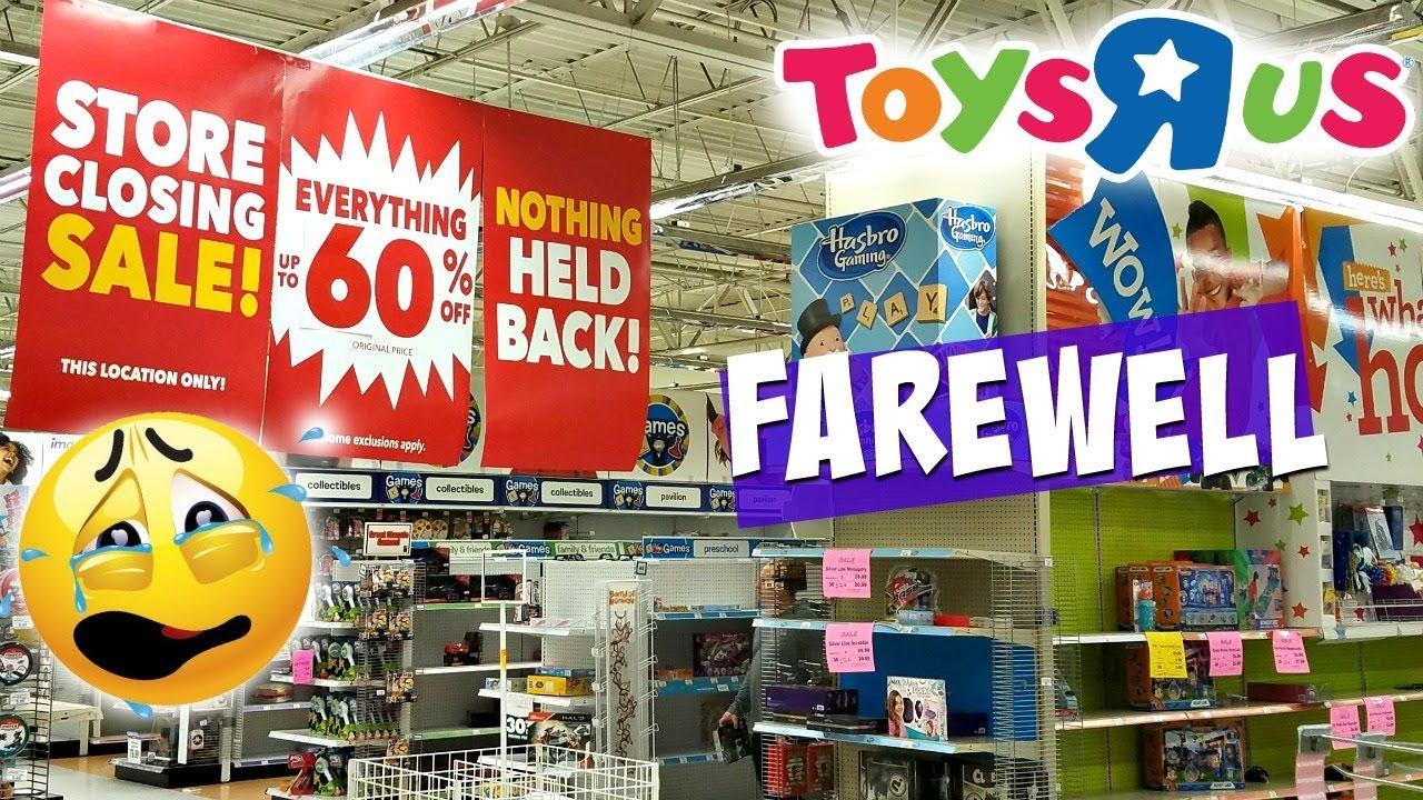 Toys R Us Is Closing Forever Scottsdale Az Walk Through