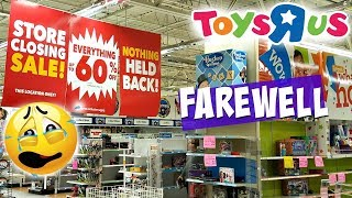 TOYS R US IS CLOSING FOREVER SCOTTSDALE AZ WALK THROUGH  2018