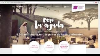 Dono a Mi Iglesia: Tutorial para donar a la Iglesia Española en Internet