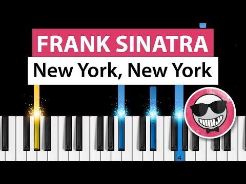 Frank Sinatra - New York, New York - Piano Tutorial - How to Play