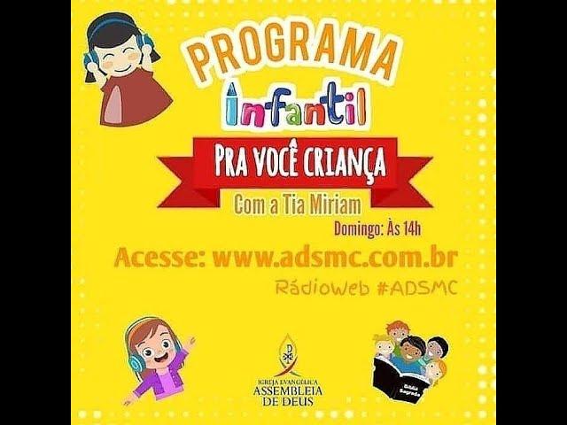 Programa PRA VOCÊ CRIANÇA - A Arca de Noé | 28/03/2021.