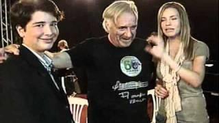 Gilvan Gouvêa, e Marilia Rogacheski, entrevistando o Maestro João Carlos Martins, Prog.Carona