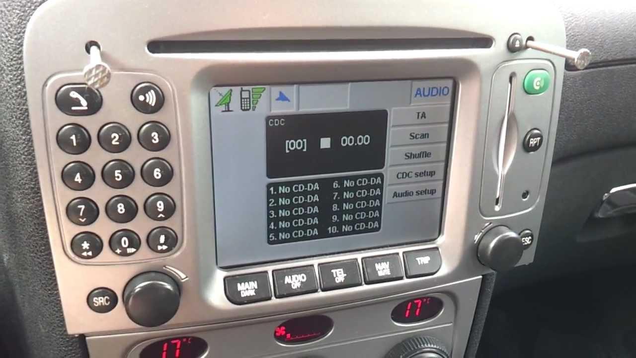 cd navigatore alfa 147