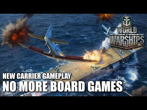 No More Board Games: New CV Gameplay - World of Warships.
