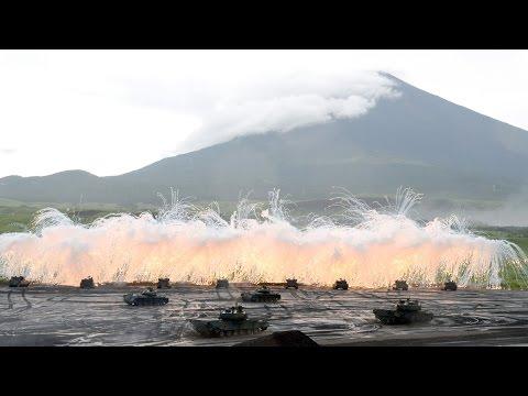 陸上自衛隊 富士総合火力演習 平成26年度
