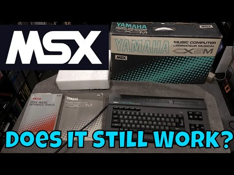 My MSX Computer...Does it Still Work?