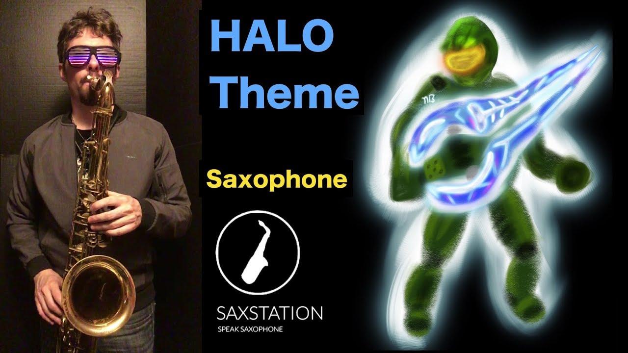 HALO Theme Song Saxophone