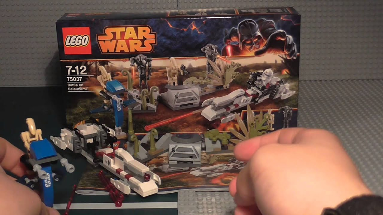 Lego Star Wars: Battle on Saleucami Build & Review 75037 ...