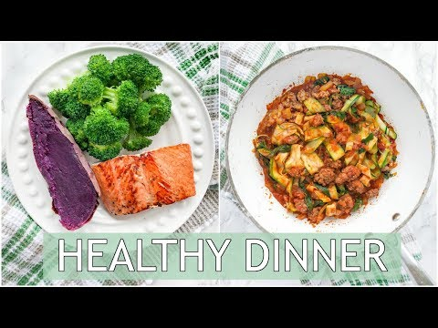 EASY Healthy Dinners | Healthy Dinner Recipes