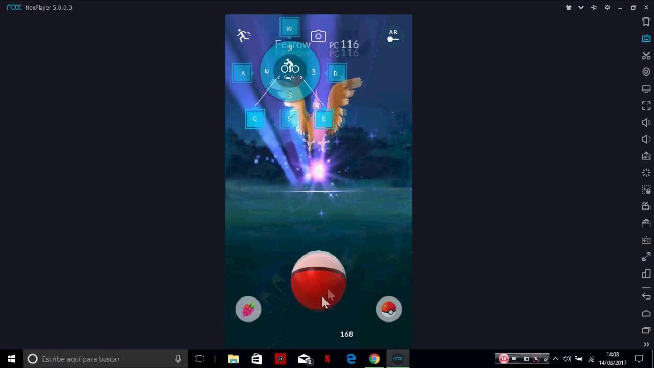 Pokemon GO PC con NOX Agosto 2017 | Pokemon GO