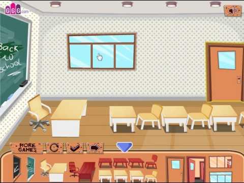 Classroom Decoration (Переделка класса) - прохождение игры