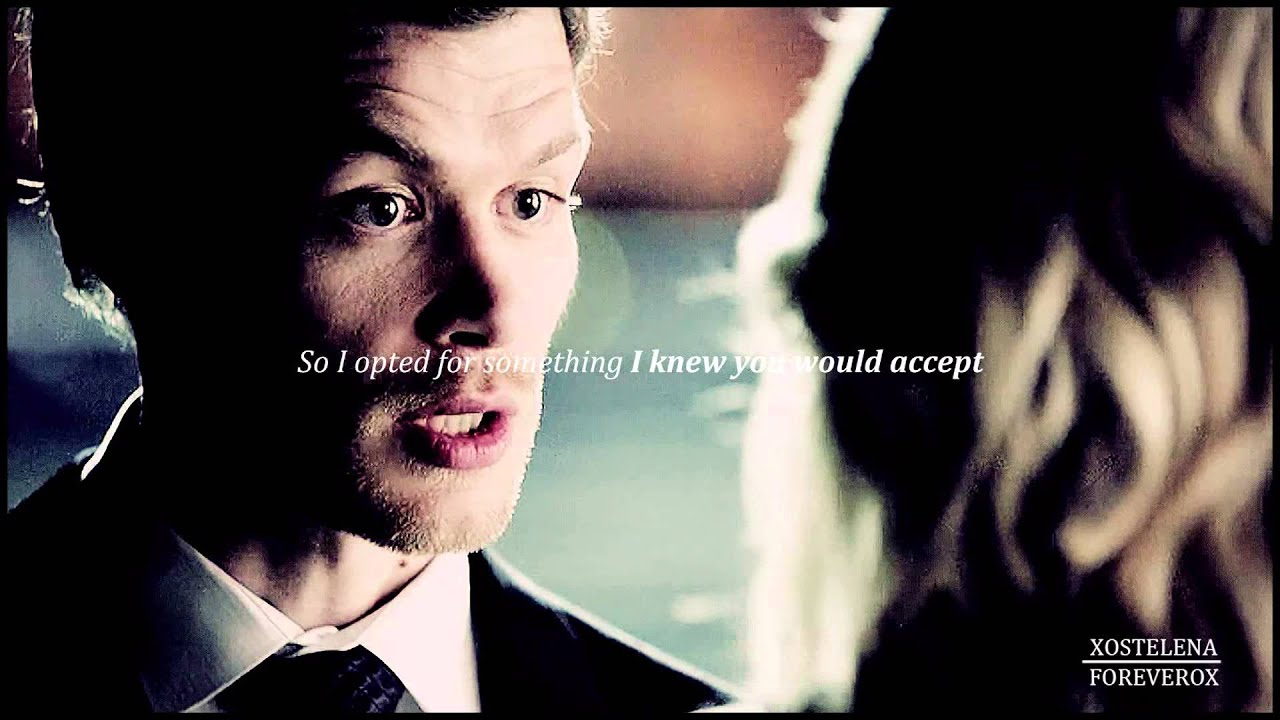 Vampire Love Quotes Wallpaper I Intend To Be Your Last Klaus Amp Caroline 4x23 Youtube