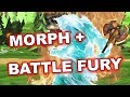 Dota 2 Tricks 7.07c: Morphling with Battle Fury!