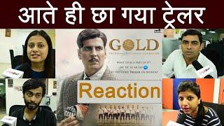 Gold Trailer Reaction: Akshay Kumar | Mouni Roy | Reema Kagti | FilmiBeat