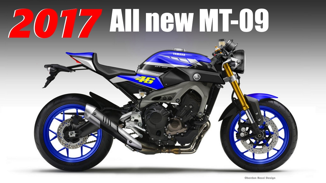 2017 all new yamaha mt 09 the compact bigbike youtube for Yamaha philippines price list 2017