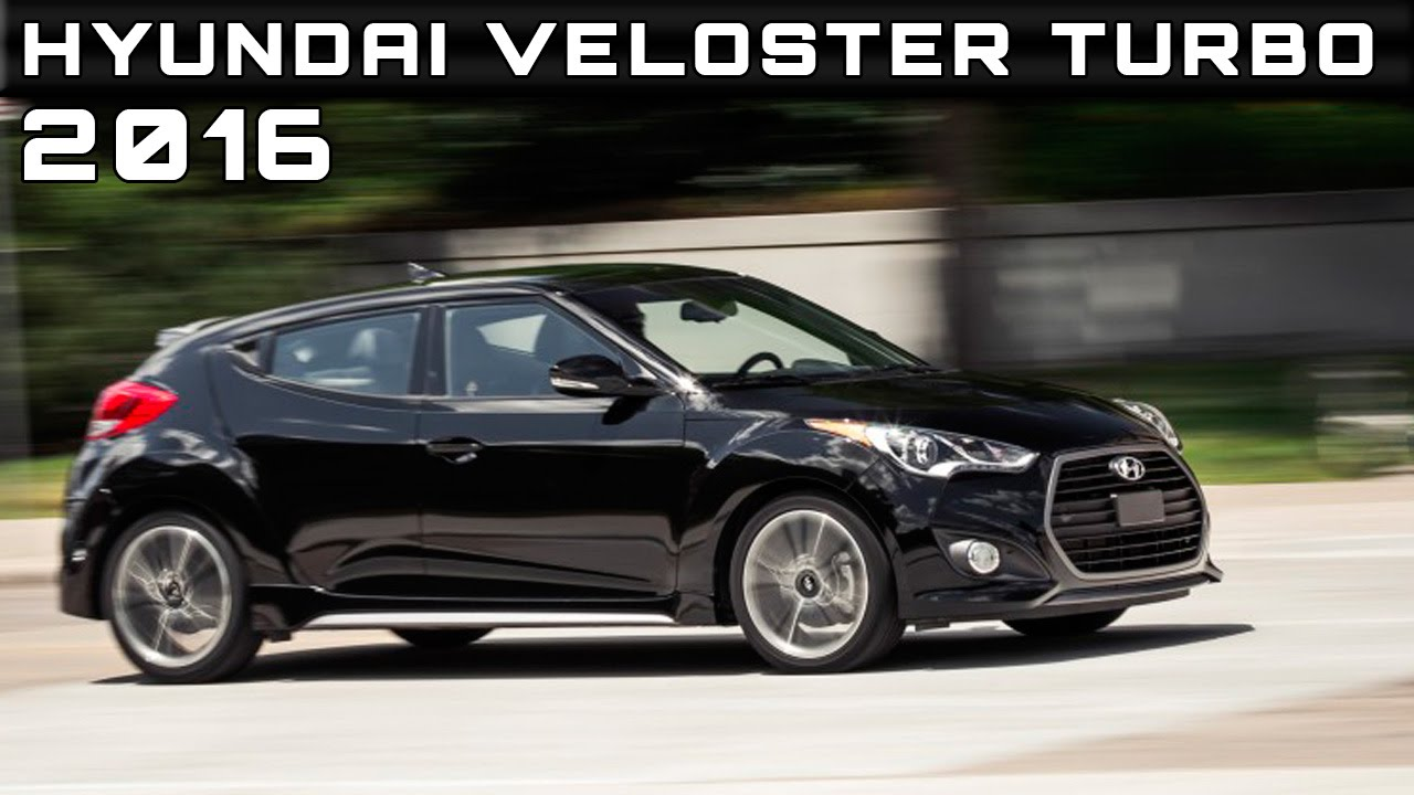 2016 Hyundai Veloster Turbo Review Rendered Price Specs Release Date