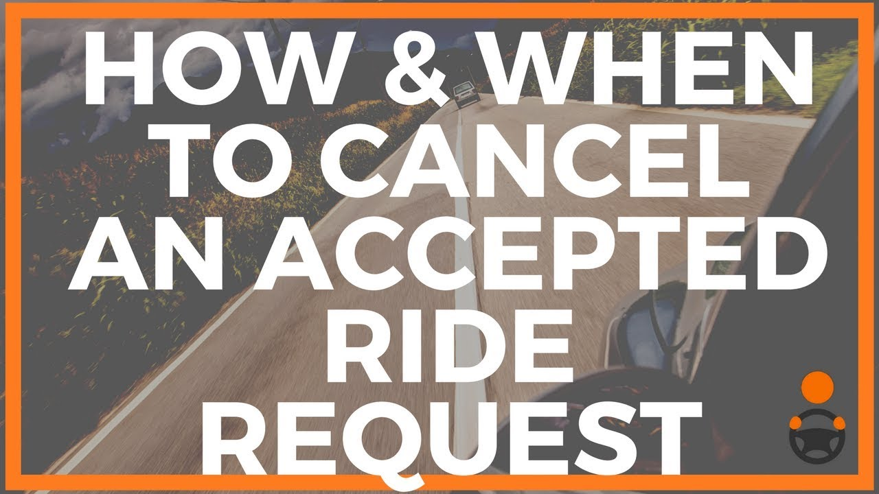 How To Cancel Uber >> How When To Cancel A Lyft Or Uber Ride Request You Already Accepted Joe Explains
