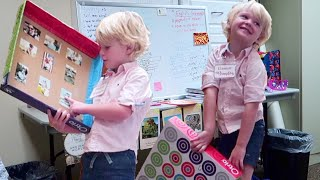 4 Year Old Gives School Presentation