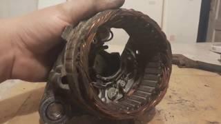 Ремонт и прозвонка генератора ваз 2101-07