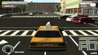 New York City Taxi Simulator Gameplay [ PC HD ]