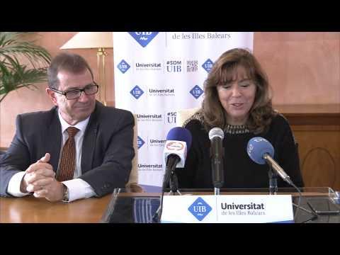 Roda informativa i Plantada d'arbre de Maria del Mar Bonet com a doctora honoris causa de la UIB