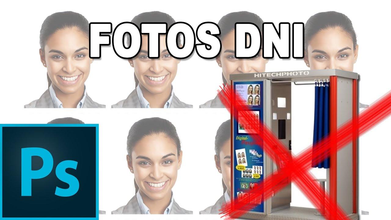 Como hacer tus propias fotos del pasaporte o DNI - Tutorial ...